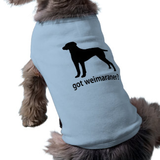 Camiseta Weimaraner obtido