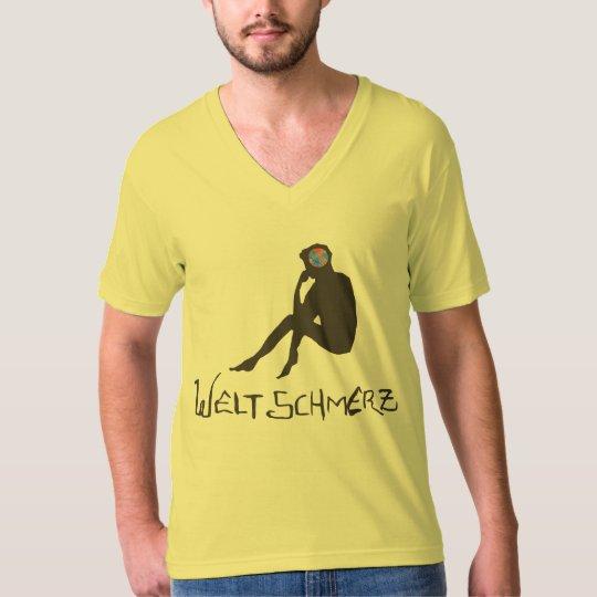 Camiseta Weltschmerz/masculina (Cansaço do mundo)