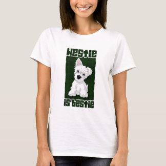 Camiseta Westie é Bestie