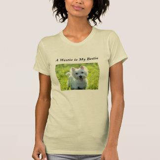 Camiseta Westie é meu Bestie
