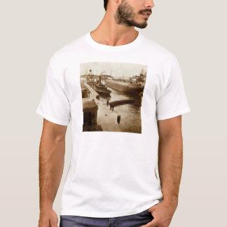 Camiseta Whalebacks no vintage Stereoview de Soo