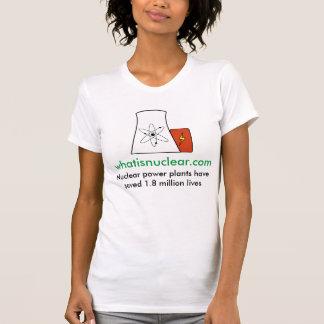 Camiseta Whatisnuclear.com nuclear salvar o T das mulheres