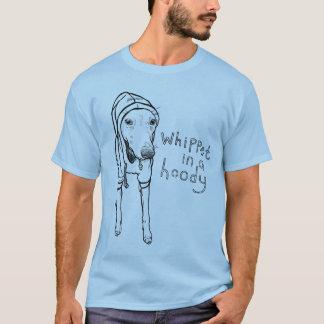 Camiseta Whippet em um Hoody