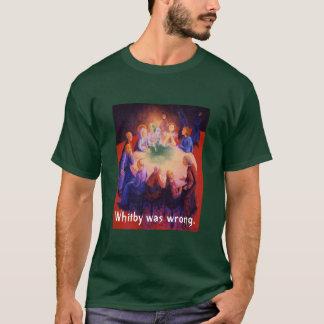 Camiseta Whitby era errado