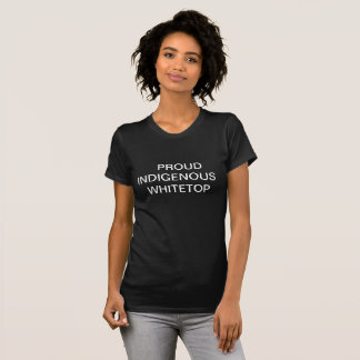 Camiseta Whitetop nativo orgulhoso