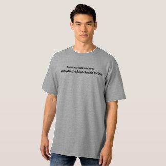 Camiseta #Whyareyousubjectingmetothis