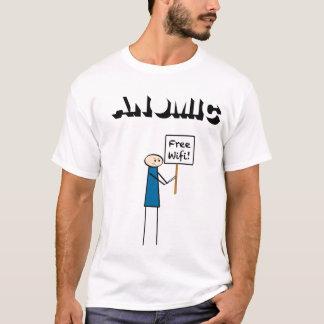 Camiseta WiFi livre