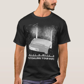 Camiseta wifitheifblack