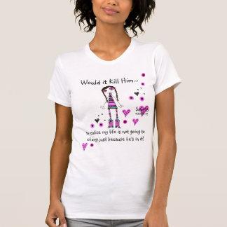 Camiseta WIKH Ser#23 que eu NÃO ESTOU MUDANDO!
