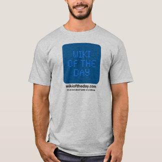 Camiseta Wiki do t-shirt dos homens do dia
