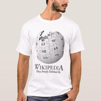 Camiseta Wikipedia suprimiu de me [a paródia]