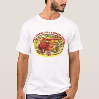 Camiseta Willys 1946 vagões arborizados