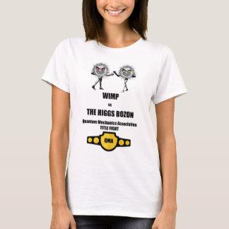 Camiseta WIMP engraçado dos mecânicos de quantum contra o