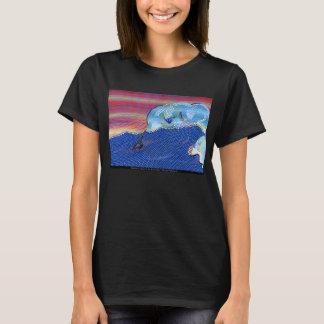 Camiseta Windsurfers no telhador 2011 de Warren do © do por