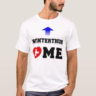 Camiseta Winterthur Loves Me by TCHDesign