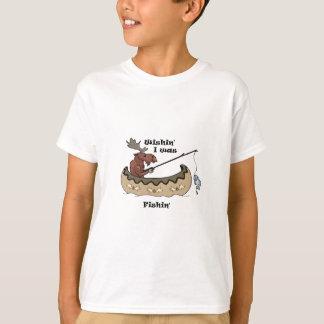 Camiseta Wishin eu pescava a pesca dos alces