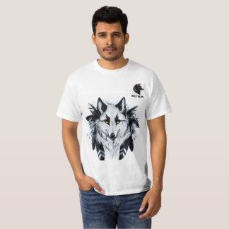 Camiseta Wolf Alpha, Branco