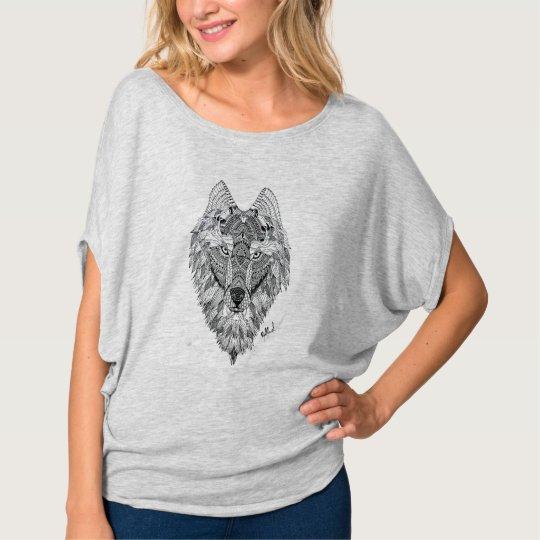 Camiseta Wolf art
