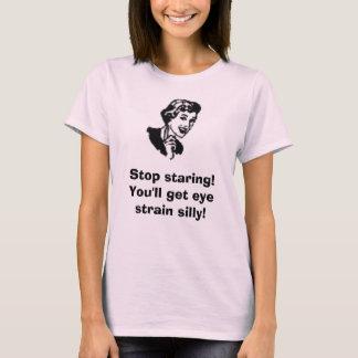Camiseta woman7_100 [1], olhar fixamente da parada! Você
