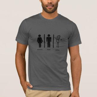 Camiseta Woman, Man… Artist.