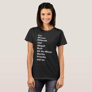 Camiseta Womanhood bíblico