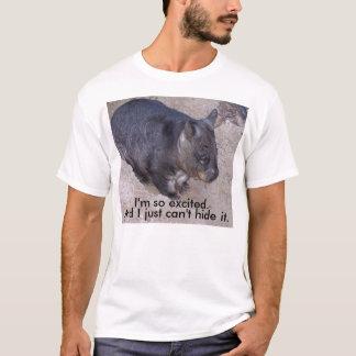 Camiseta Wombat Não-Assim-Excited