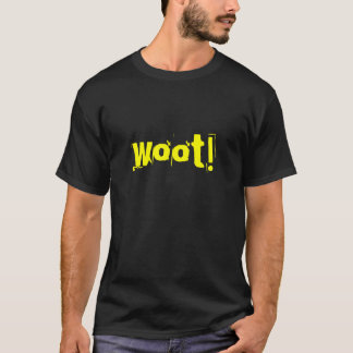 Camiseta woot!