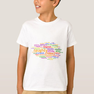 Camiseta Wordle impertinente