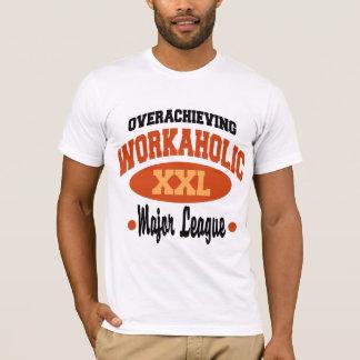 Camiseta Workaholic engraçado