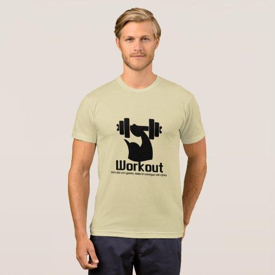 Camiseta Workout brown