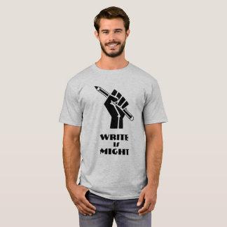 Camiseta Write é poder