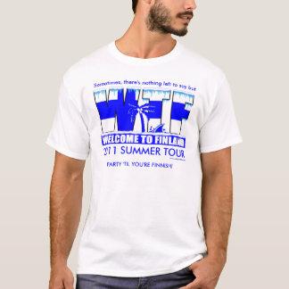 Camiseta WTF 2011 (design na parte dianteira)