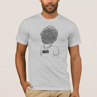 Camiseta WTF é demasiado complicado