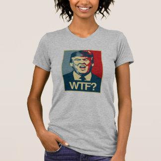 Camiseta WTF - Poster do Anti-Trunfo - Anti-Trunfo -