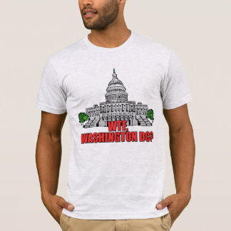 Camiseta WTF, Washington DC?
