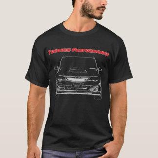 Camiseta WTI torcida do desempenho