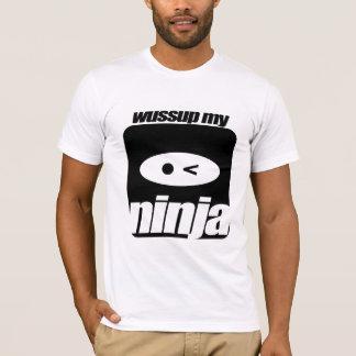 Camiseta Wussup meu T de Ninja