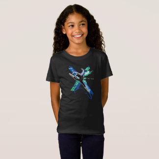 Camiseta X T do fator - meninas