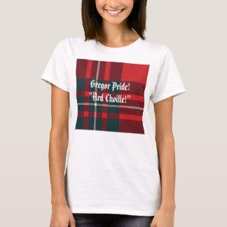 """Camiseta Xadrez de MacGregor, orgulho de Gregor! """"Ard"""
