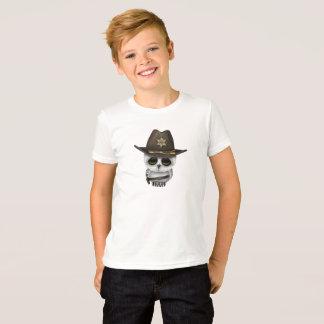 Camiseta Xerife bonito da coruja do bebê