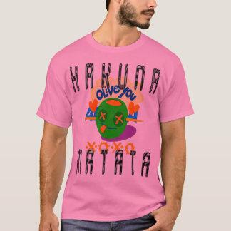 Camiseta XOXO criam seus próprios eu te amo t-shirt