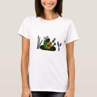Camiseta XX- sapo do canto com guitarra