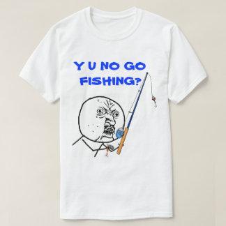 Camiseta Y U NENHUM vai Meme de pesca