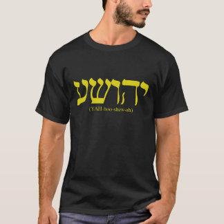 Camiseta Yahushua (Jesus) com letras do ouro