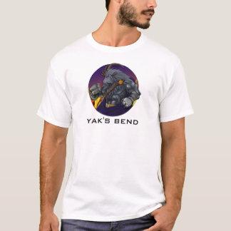Camiseta Yakkicus da curvatura do iaque!