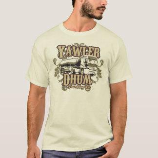Camiseta Yawler Dhum que transporta o Co.