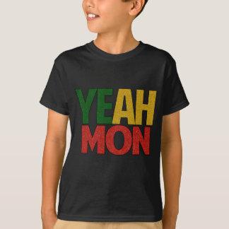 Camiseta Yeah férias jamaicanas de segunda-feira