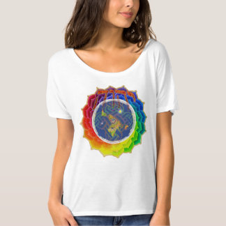 Camiseta YHWH COBRE o t-shirt Slouchy de EARTH~Canvas