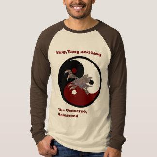 Camiseta Ying, Yang e Ling