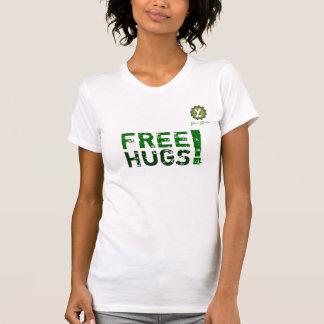 Camiseta YL - ABRAÇOS LIVRES! - Meninas de Gaia